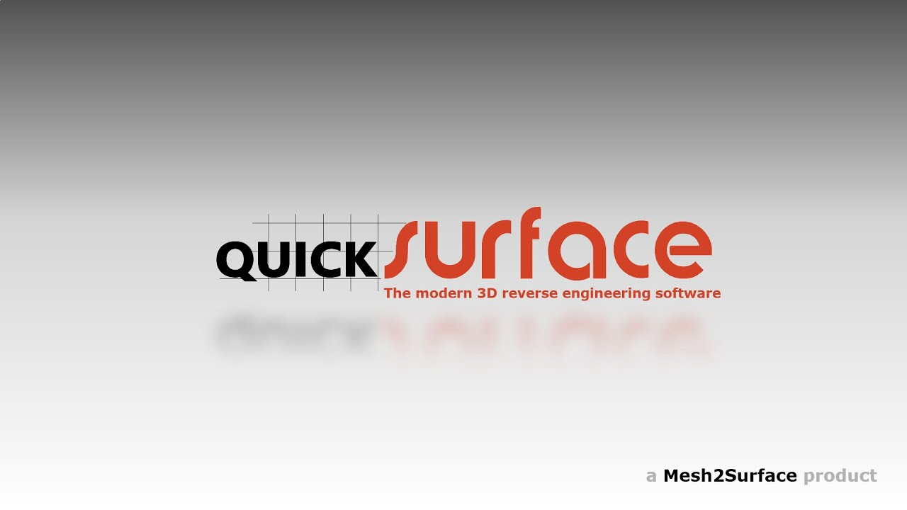 QUICKSURFACE overview - 3D  Software for converting 3D scan meshes into CAD models.