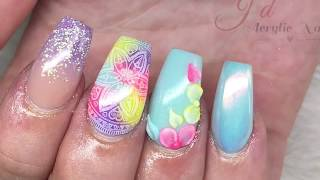 Festival Design | Acrylic Nails