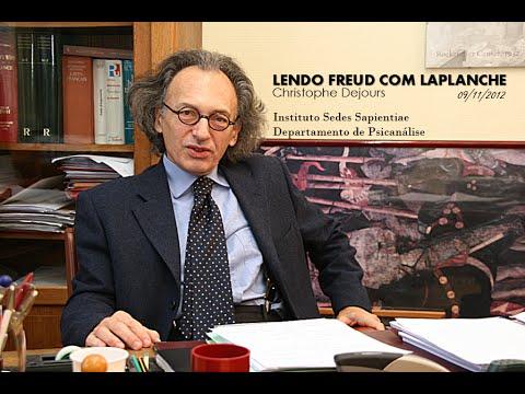 """CHRISTOPHE DEJOURS I """"Lendo Freud Com Laplanche"""" I Conferência (SEDES, 2012)"""