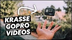 10 Tipps beim filmen mit ActionCams! So machst du krasse GoPro Videos!