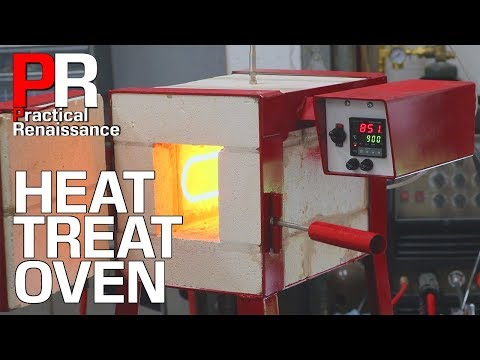 Making a High Temperature Electric Oven for Heat Treating Steel!!