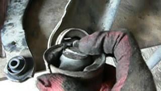 Mitsubishi Lancer ремонт задней подвески