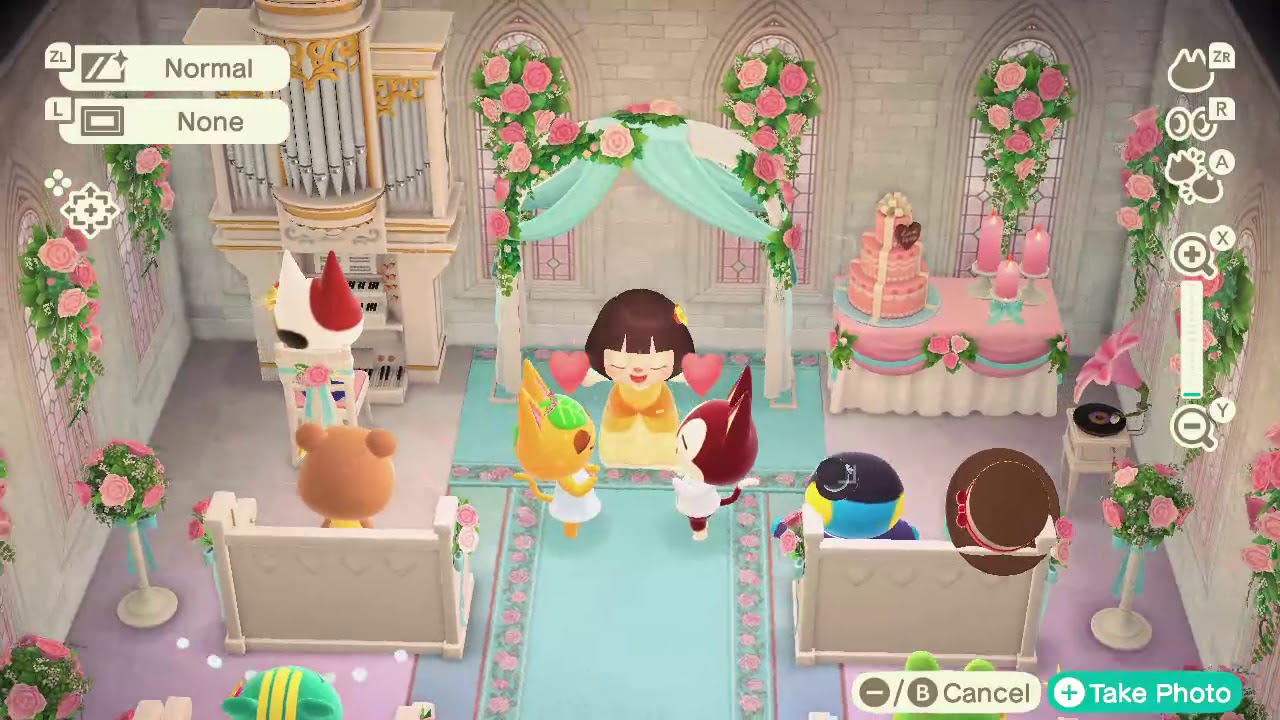 Animal Crossing New Horizons - Tangy and Rudy's Wedding