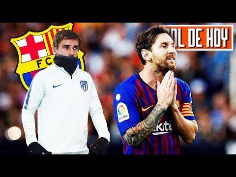 La confesión de Griezmann: El Barca y Messi I ѦMENAZѦ del Madrid a la UEFA