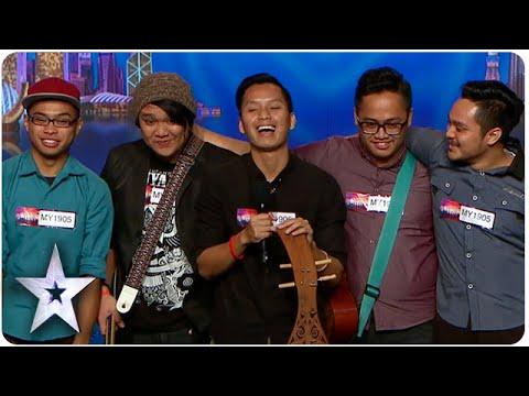 Sada Borneo Keeps Traditional Music Alive | Asia's Got Talent Episode 4