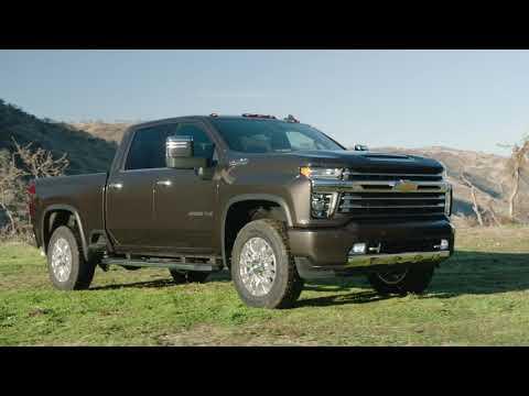 2020 Chevrolet Silverado HD Design