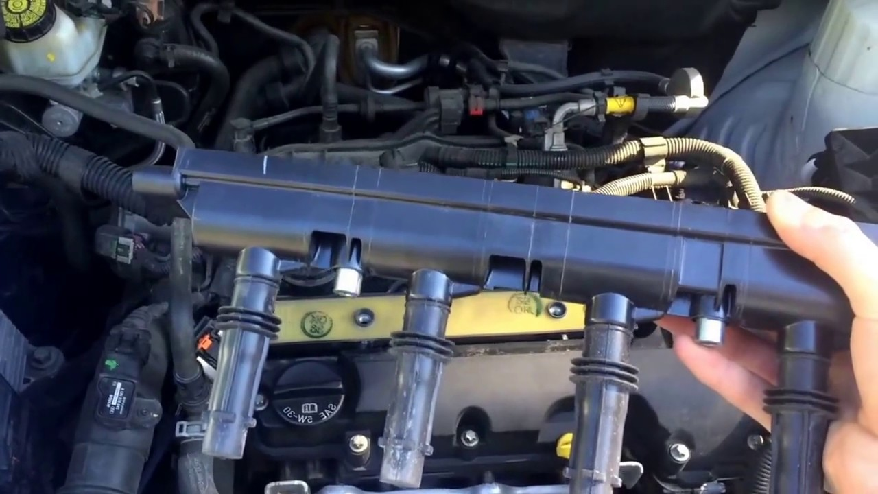 How To: Chevy CruzeSonicSpark Spark PlugIgnition Rail Replacement  YouTube