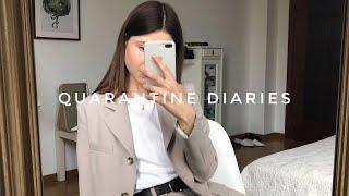 Quarantine Diaries online покупки съемка на дому и что я чувствую во время карантина