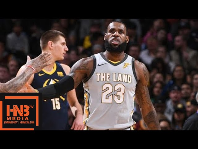 Cleveland Cavaliers vs Denver Nuggets Full Game Highlights / March 7 / 2017-18 NBA Season #1