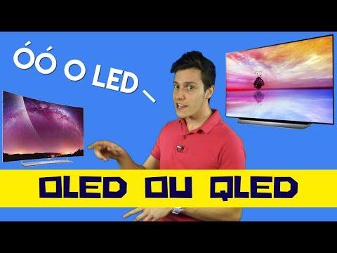 Diferença de OLED para QLED - Qual televisor comprar?