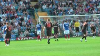 Portsmouth FC  v Reading FC 2010