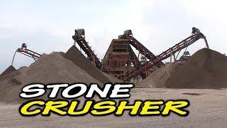 Modern STONE CRUSHER - Mesin Pemecah Penghancur Batu Model Terbaru