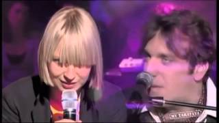 Sia Time After Time ft Chilly Gonzales Cyndi Lauper Cover ,#Sia
