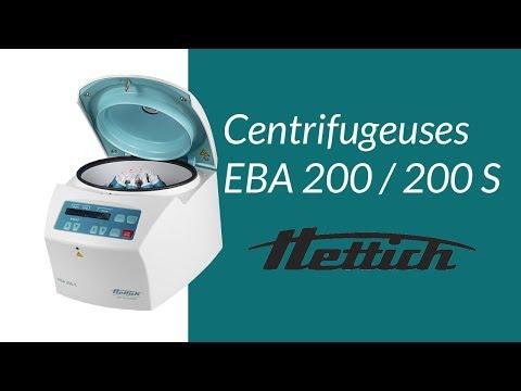 Centrifugeuse EBA200 et