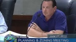 Glenn Gromann Planning & Zoning Meeting Boca Raton June 27, 2013