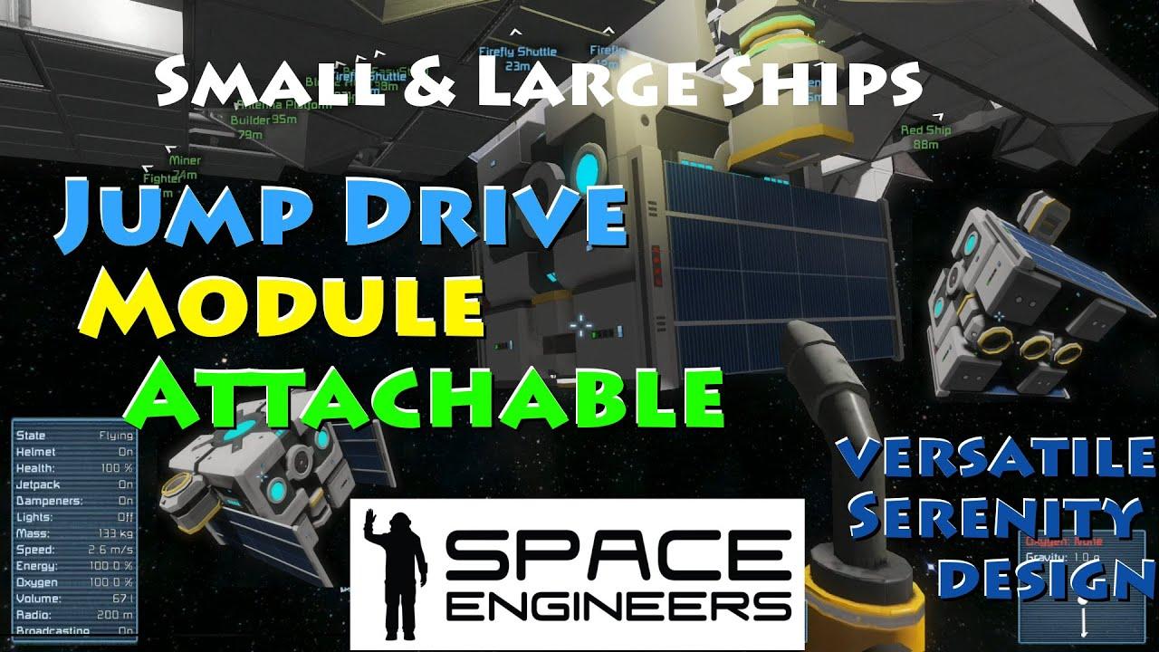 Space Engineers Jump Drive Module (Detachable) Large ...