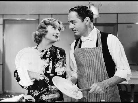 ❤1936 WONDERFUL Comedy Romance ~ William Powell, Carol Lombard, Alice Brady.. Black White TCM