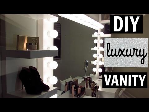 DIY LUXURY VANITY | LeAnn Donoso