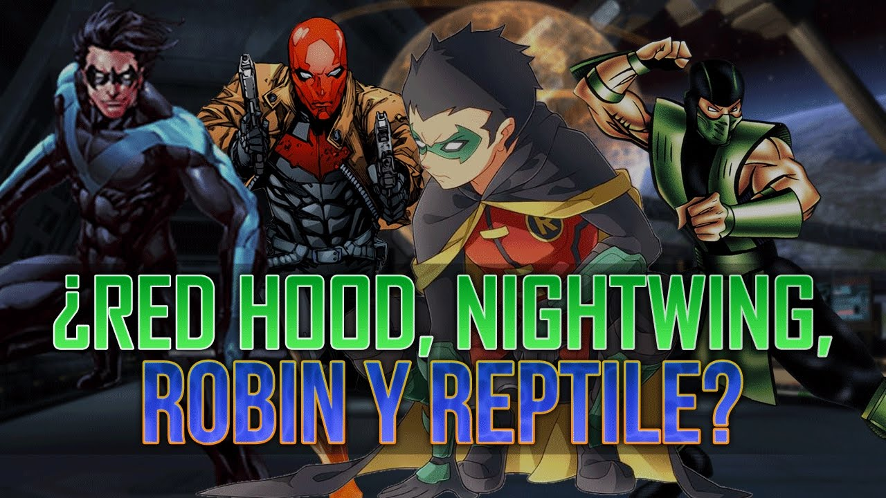 ... para Injustice 2 | Reptile, Red Hood, Nightwing y Robin - YouTube