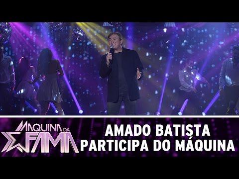 Máquina da Fama (08/08/16) Amado Batista traz o amor ao Máquina da Fama