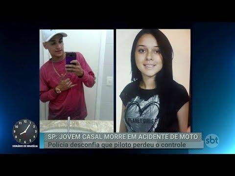 Acidente de moto mata dois jovens na zona leste de São Paulo | Primeiro Impacto (08/03/18)