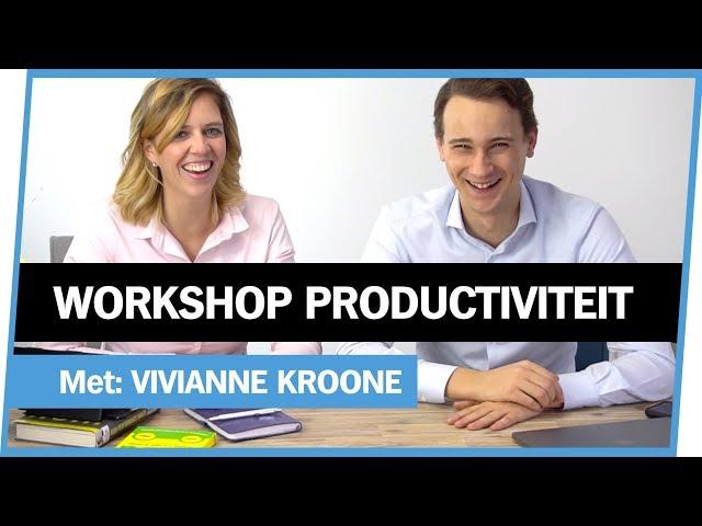 MEER UIT JE TIJD HALEN [productiviteit workshop]
