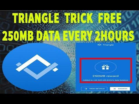 TRIANGLE HACK TRICK GET FREE 250MB DATA EVERY 2 HOURS