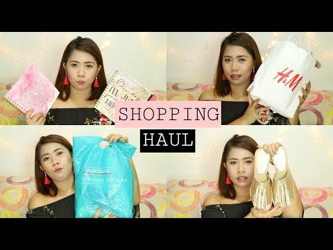 SHOPPING HAUL (TYPO, H&M, KAMISETA, MANGO, BAYO, Etc.) HEYCREZEL | PHILIPPINES