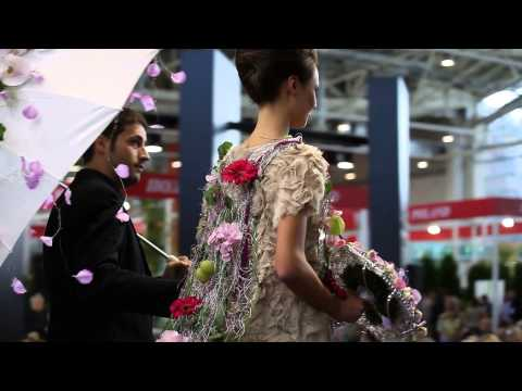 """Annual World Flower Show «Three Days of Top Floral Design"""" 2 DAY!"""
