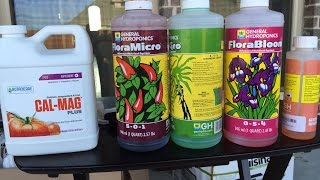 How to Mix Hydroponic Nutrients - Masterblend & General Hydroponic Flora Series