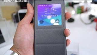 S-View Flip Cover w/ Wireless Charging for Note 4 Review!