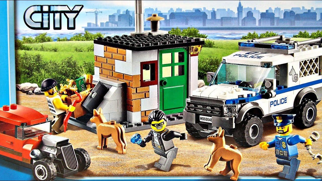 Police Dog Unit Kryjówka Złodziei 60048 Lego City Recenzja