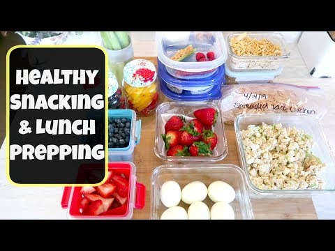 Healthy Meal Prep   Lunch & Snack Options