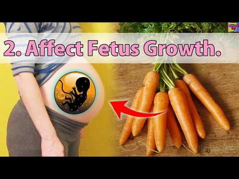 """Is It Safe To Eat Carrots During Pregnancy Skin Colour Can Turns Pale Or Yellow """"Carotenemia""""!"""