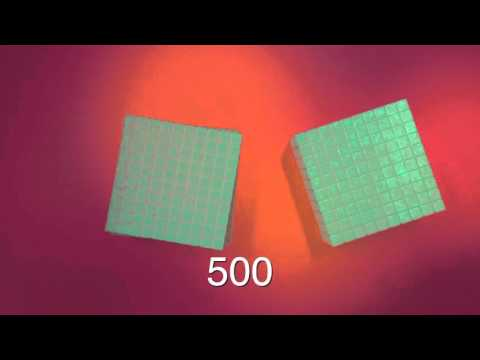 Math Cubes Stop Motion animation