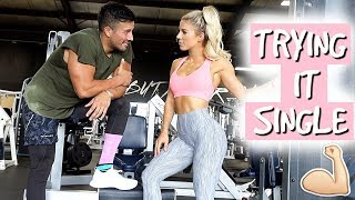 Trying It SINGLE | This burns your BELLY FAT?!