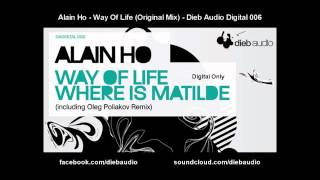 Alain Ho - Way Of Life (Original Mix) - Dieb Audio Digital 006