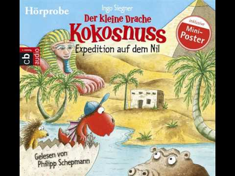 Der kleine Drache Kokosnuss: Witze von der Dracheninsel 1 YouTube Hörbuch Trailer auf Deutsch