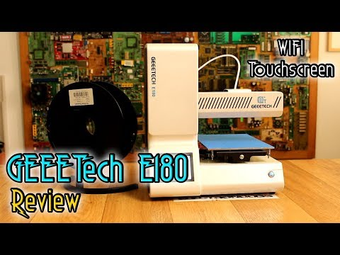 GeeeTech E180 3D printer REVIEW