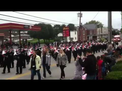 Central York High School Marching Band Dover Pa 10 2 11
