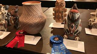 Best Of Show Preview - SWAIA - 96th Annual Santa Fe Indian Market 2017   Class II - Pottery Clip 3