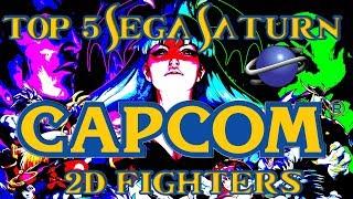 Top 5 Best Capcom Sega Saturn 2D Fighters  Street Fighter, X-Men vs Street Fighter, Darkstalkers