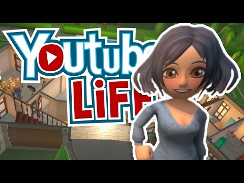 STARTING MY WIFE'S CHANNEL!! [Ep 1] | Youtubers Life