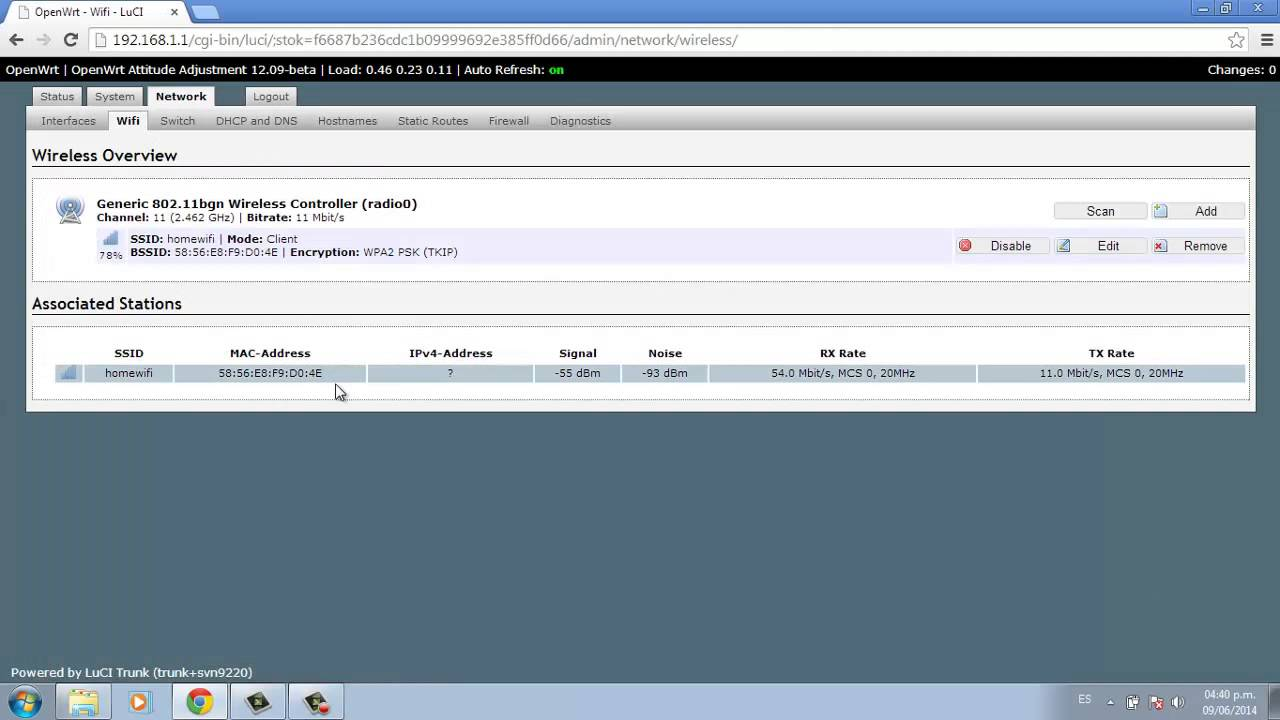 Configurar Router con OpenWRT Firmware en Modo Repetidor Wireless