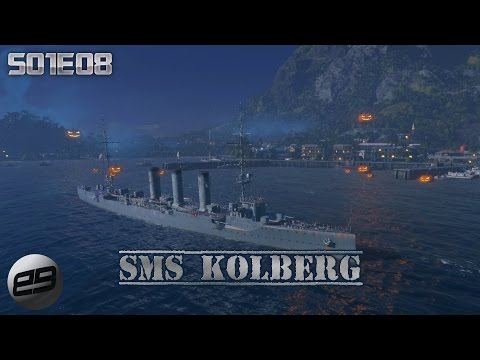 WORLD OF WARSHIPS [Nº08] » SMS Kolberg « Gameplay Deutsch/German