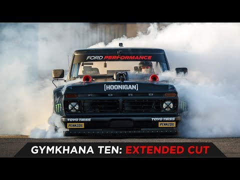 Ken Blocks GYMKHANA TEN: Extended Cut: ROUTE 66 | TOYO TIRES