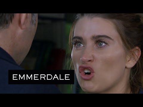 Emmerdale - Debbie Insults Graham's Dead Family