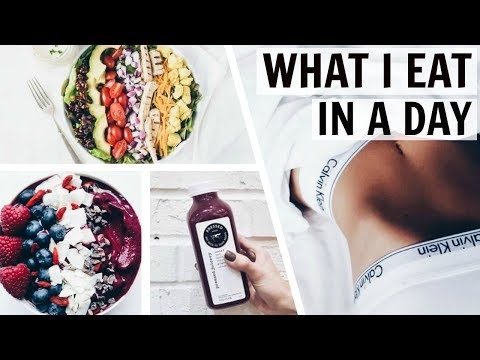 WHAT I EAT IN A DAY 2017 - VERY HEALTHY! / Nika Erculj