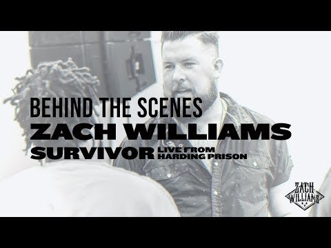 Zach Williams - Behind The Scenes Of Survivor: Live From Harding Prison