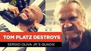 EP1: Tom Platz Destroys Sergio Oliva Jr.'s Quads!